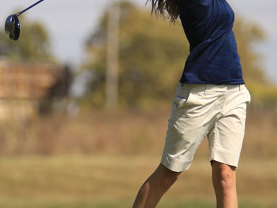 Varsity girls golf places second at Basehor-Linwood Invitational