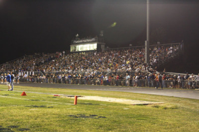 Homecoming game has largest attendance yet