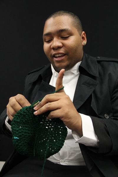 Students take interest in knitting projects