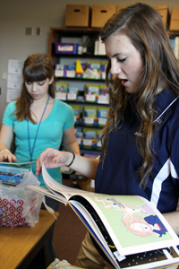 Community Service students organize literacy program