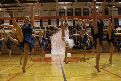 Silver Stars compete in the Kansas Spectacular