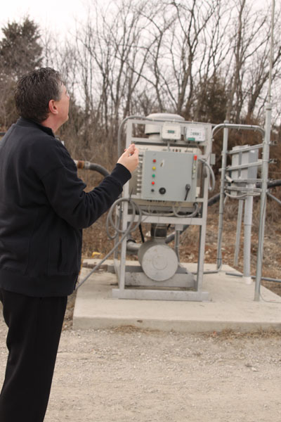 Deffenbaugh works to eliminate stench emanating from landfill