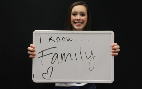 Freshman Sophie Jones discusses her unique family dynamic