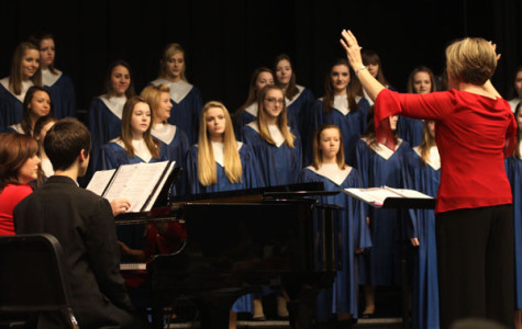 Winter band and choir perfom successful concerts