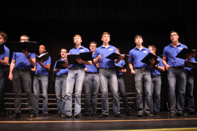 UMKC men's choir performs during seminar