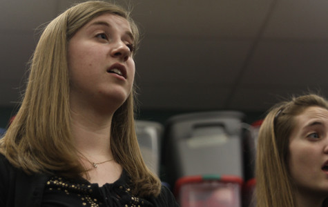 Student selected for honor choir