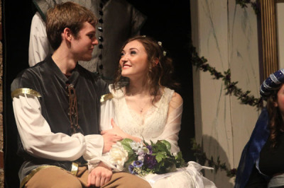 "Students present the play ""A Midsummer Night's Dream"""