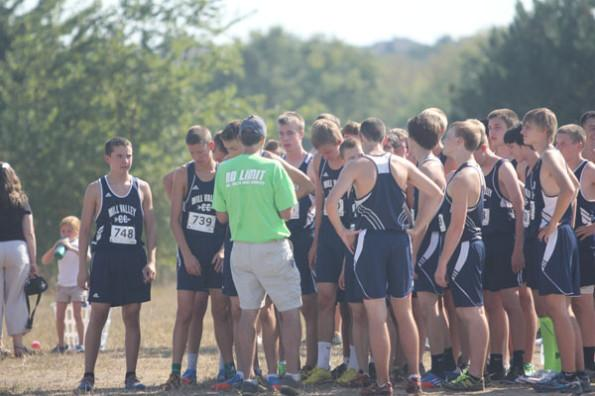 Cross country wins meet at Shawnee Mission Park
