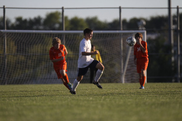 Varsity boys soccer team dominates Bonner Springs