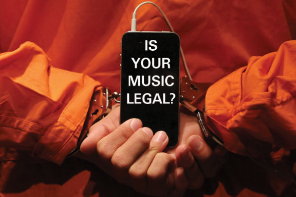 Is your music illegal?