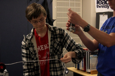 Principles of Engineering class uses creative projects to teach concepts