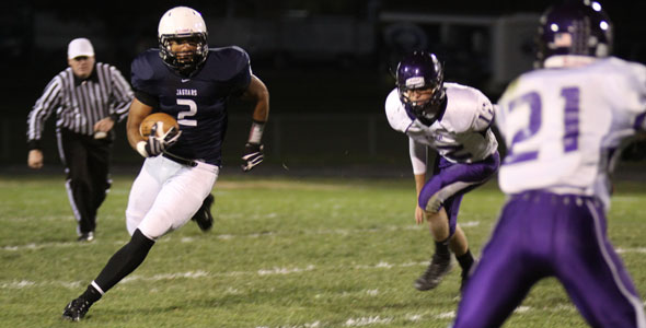 Football captures league title