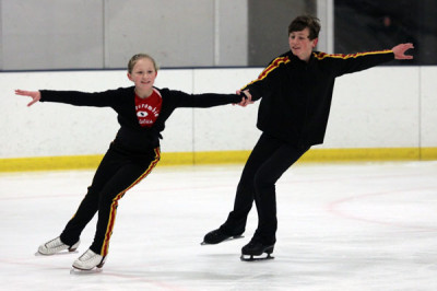 Competitive figure skaters share their experiences