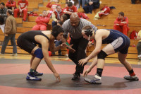 Wrestling Saturday, Feb. 9