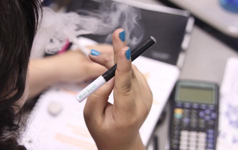 Rising use of electronic cigarettes in school