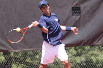 Foreign exchange student sets tennis records