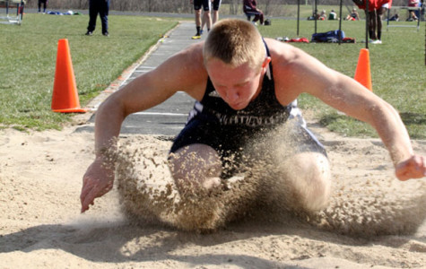 Track captures League title