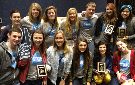 Journalism department wins state contest