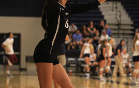 Volleyball defeats Blue Valley and Lansing in triangular on Thursday, Sept. 12