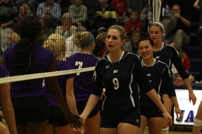 Volleyball defeats Piper and achieves KVL championship