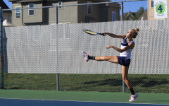 Girls tennis team wins tri