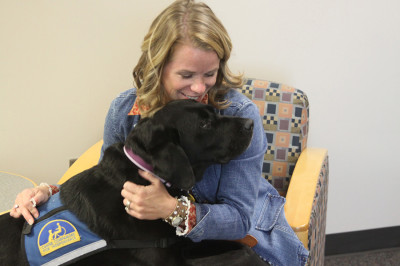 School dog Fala assists in counseling program