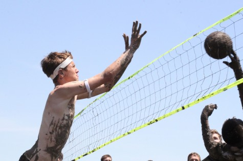 Mayhem Week ends with mud volleyball
