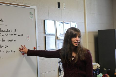 Creative Writing club incorporates holidays into club activities and meetings