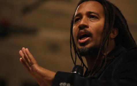 Guest speaker addresses students about prejudice