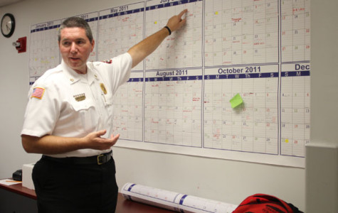 Fire department adjusts to new fire chief and recovers from recent loss