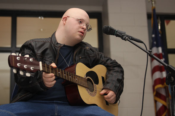 Students showcase talents at Open Mic Night