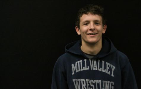 Sophomore wrestler Jake Ellis has high expectations for the season