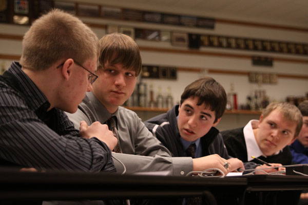 Quiz Bowl team competes at state competiton