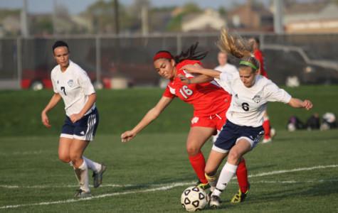Girls soccer team wins season opener
