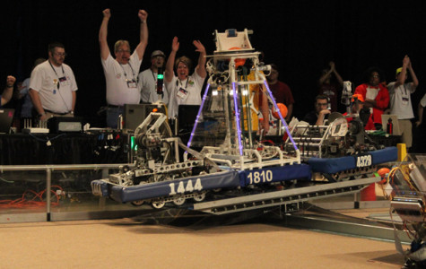 Robotics team competes in final rounds at regionals