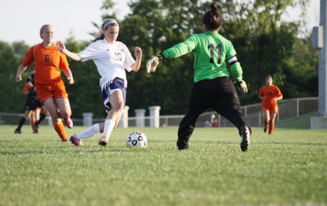 Girls soccer team wins Senior Night game against Bonner Springs