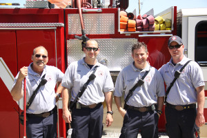 Fire department conducts yearly school fire inspection