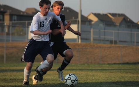 Varsity boys soccer loses home opener 0-2