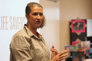 Organ donor speaker presents to Health classes
