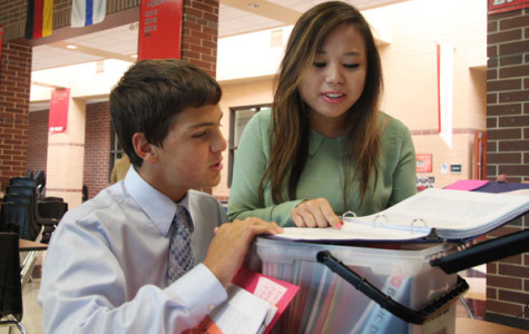 Debate team competes at Blue Valley West
