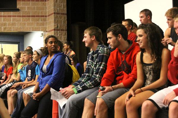 Student leadership team initiates Class Cup competition