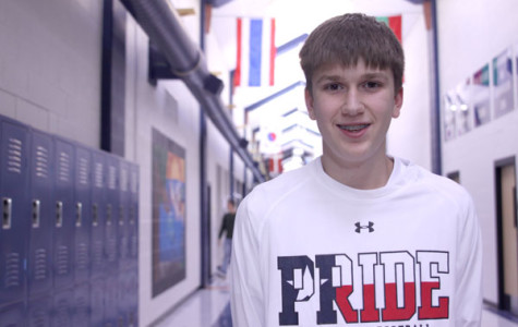 Seven questions with sophomore sports nut Noah Friesen