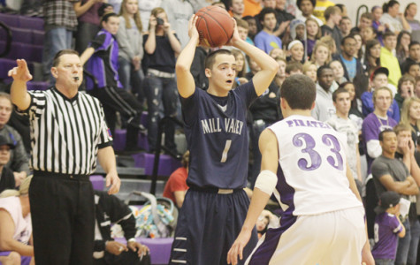 Seven questions with senior basketball player Kyle Kain