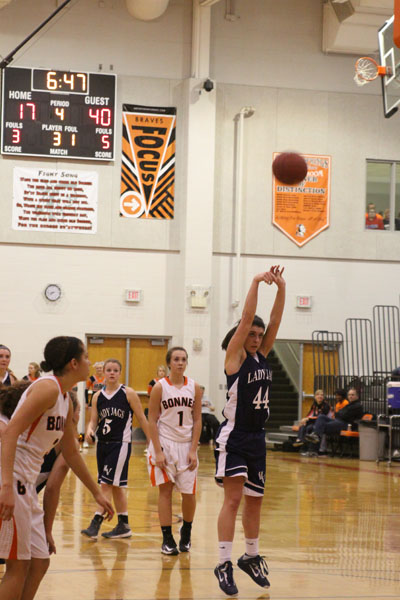 Girls Basketball team gears up to face Shawnee Mission South