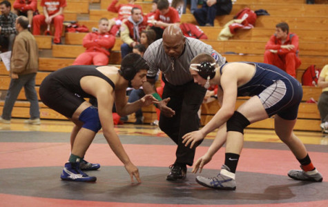 Wrestling team places second at league tournament