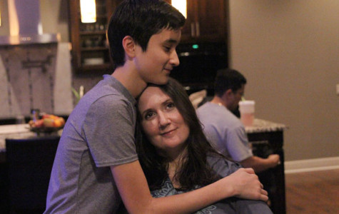 Student learns how to deal with mom's paralysis