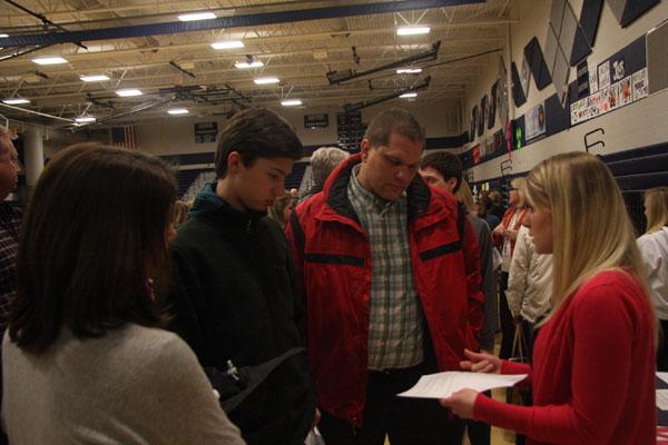 School hosts incoming freshmen parent night