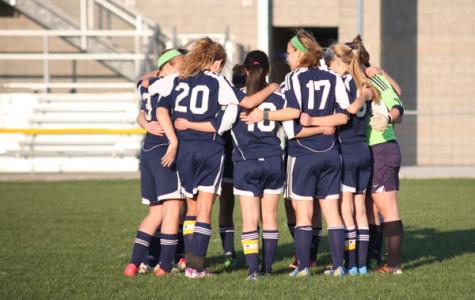 Girls soccer suffers season's second loss to BVN, defeat Gardner 7-0