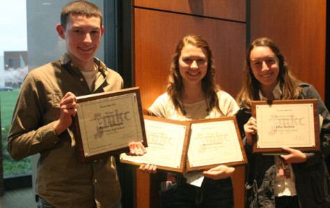 Journalism staffs earn top honors at JEMKC awards