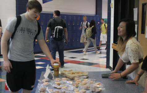 Harmony Club bake sale